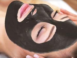 Black doll facial machine treatment
