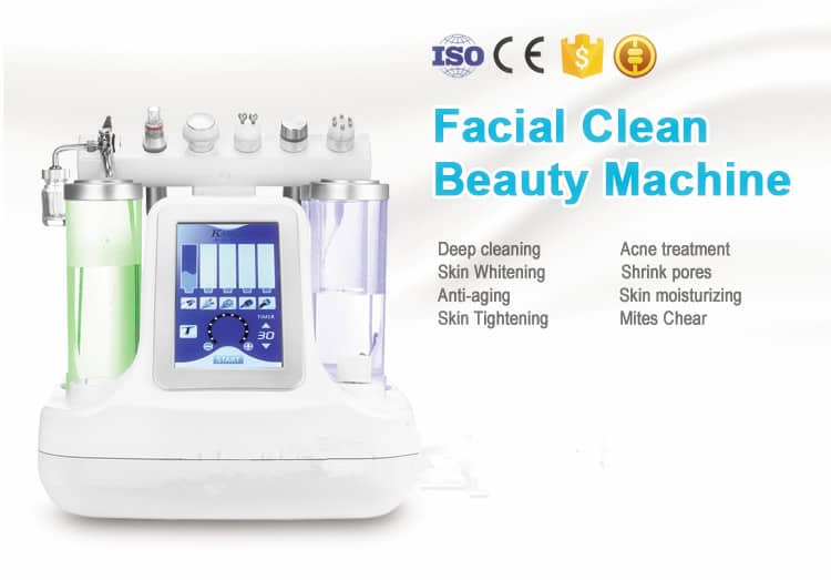 HydraFacial machine applicattion